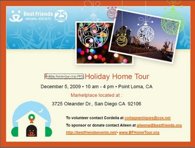Holiday Home Tour Flyer